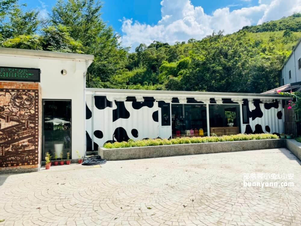 花蓮瑞穗牧場,餵可愛牛牛吃草,吃鮮奶饅頭和香醇鮮奶好地方