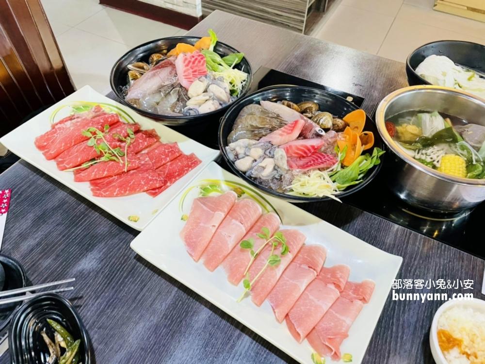 基隆港陞豪火鍋,海陸全餐吃現撈海產,基隆火鍋推薦