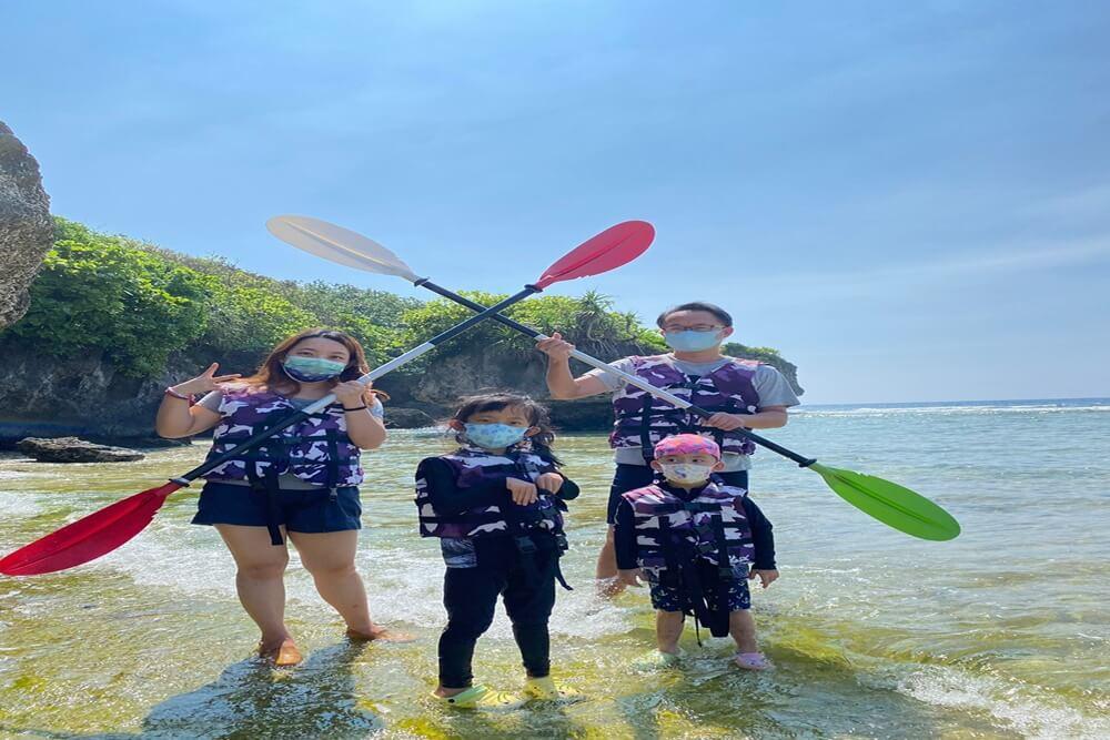 屏東小琉球浮潛&獨木舟這樣玩,和海龜共游好開心,花瓶岩超美麗