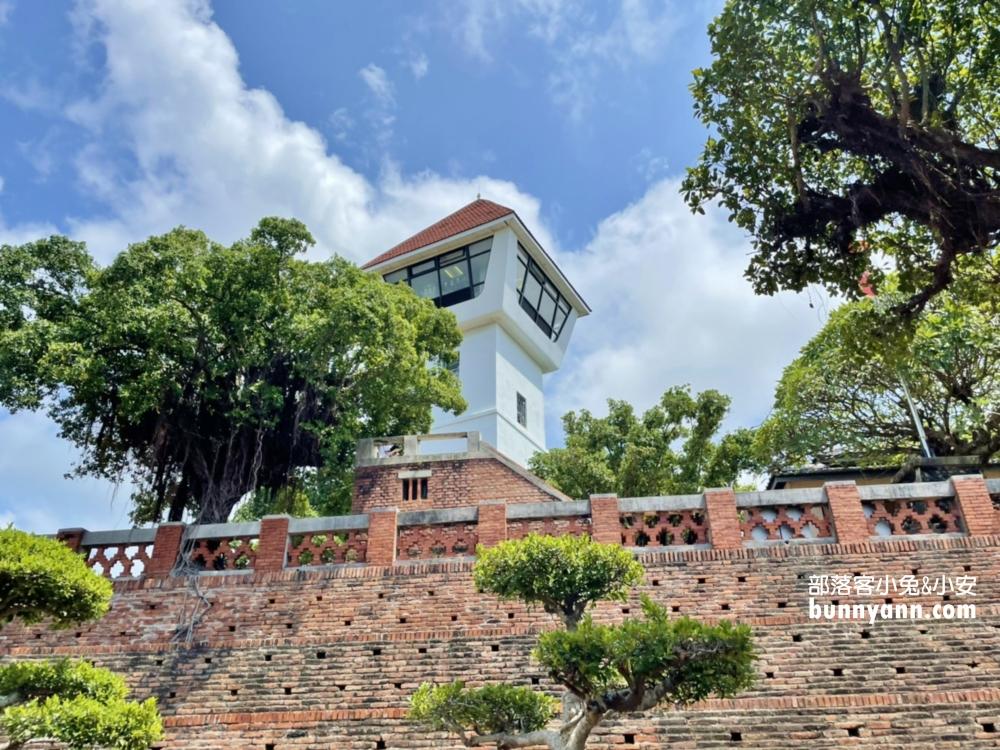 安平古堡熱蘭遮城,美拍白色洋樓建築,安平老街好好逛