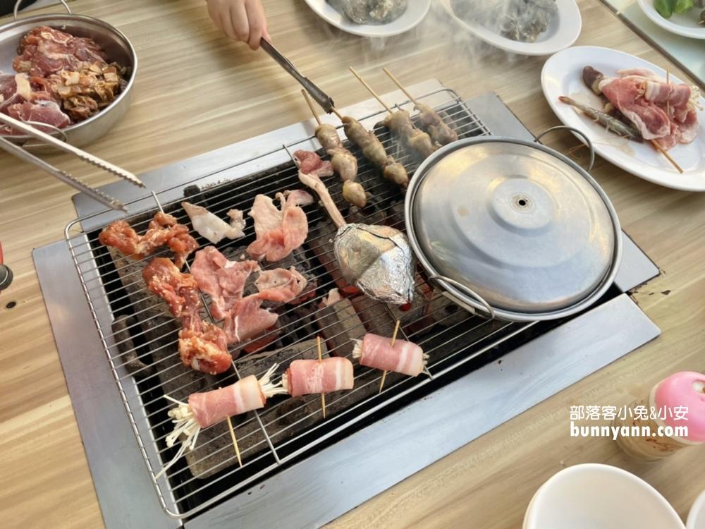 林園阿香澎湖碳烤,有那麼好吃?慢工出細活的碳火超讚